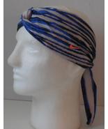 2x Two NIKE Dri-FIT Studio Twist Tiger Print Head Tie Blue Black White B... - $25.48