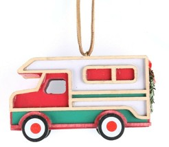 Wondershop Target RV Camper Trailer Wooden Christmas Ornament 2018 New w Tag