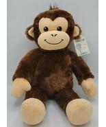 "BABW / Build a Bear Workshop Smiley Monkey 18"" Plush Stuffed Animal Toy - $9.89"