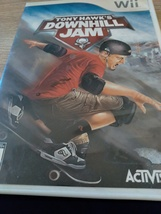 Nintendo Wii Tony Hawk's DownHill Jam image 1