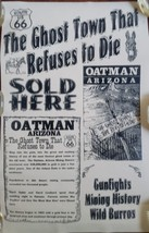 The Ghost Town That Refuses to Die Oatman Arizona Poster - $19.95