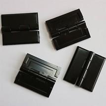 5 x NEGRO Piano acr/ílico 32mm x 38mm Acr/ílico NEGRO Piano acr/ílico continua bisagras