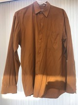 Florentin Collection Mens Shirt Size M Long Sleeve Ships N 24h - $5.92