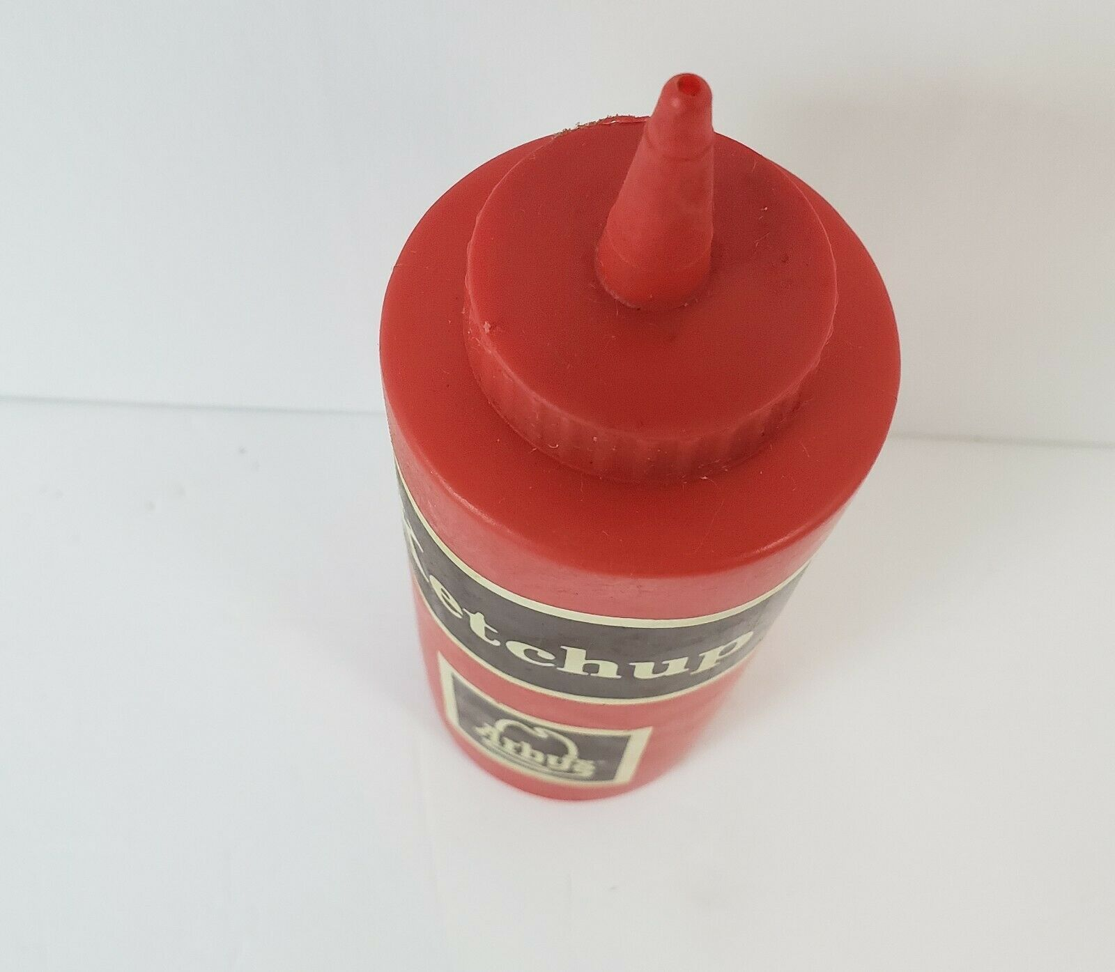 "Vintage Arby's Ketchup Squeeze Bottle - 1970's - Advertising - 7.5"" Tall image 4"