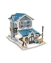 PANDA SUPERSTORE French Hotel Three-Dimensional House of Manual Assembly Paper M