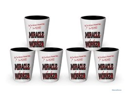 I'm Mechanic shot glass- Not a Miracle Worker -Mechanic Gifts (6) - $29.35
