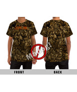 Demonic Wild Camouflage Pattern All Over Print T-Shirt - £28.88 GBP