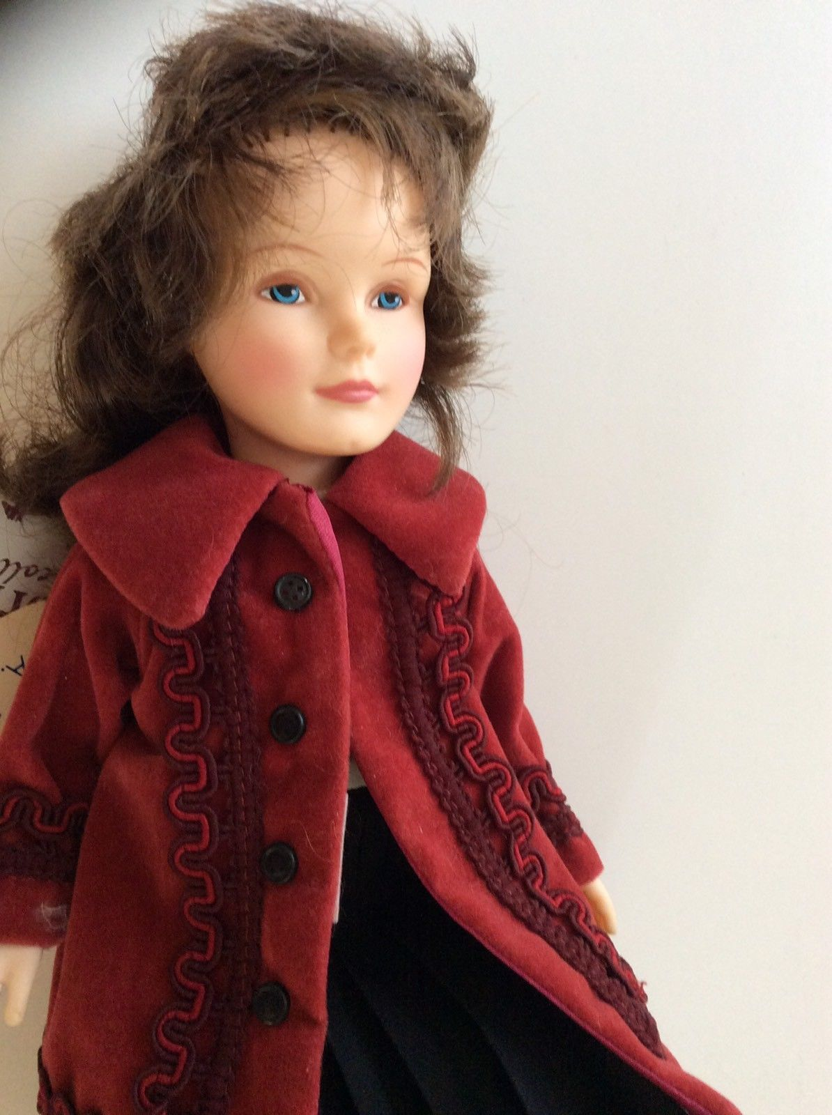 """Effanbee Little Old New York Collection 11"""" Union Square 1986 Ltd. Ed. #1206 USA"""