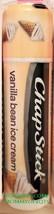 ChapStick VANILLA BEAN ICE CREAM Moisturizing Lip Balm Gloss Limited Sealed - $3.50