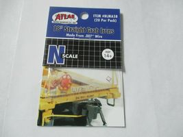 """Atlas # BLMA58 18"""" Straight Grab Irons .007 Wire 20 Pack N-Scale image 5"""