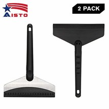 """Aisto 2 Pack 9.8"""" Heavy Duty Ice Scraper for Windshield Frost and Snow Removal f"""