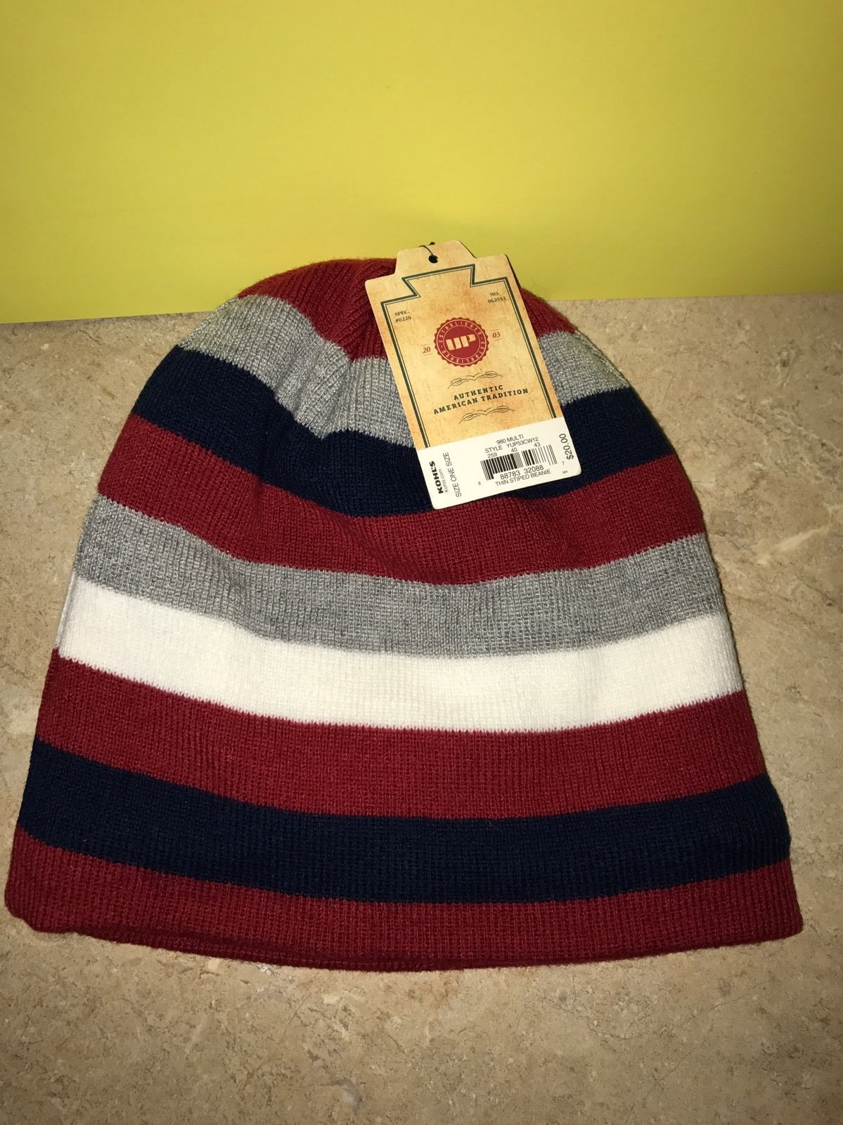 f7e8a357899 Urban Pipeline Multi Thin-Striped Beanie and 50 similar items. S l1600