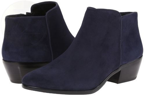 40ba8f0ce ... Sam Edelman Womens Petty Ankle Boot Inky Navy 4.5 B M Us New Free  Shipping ...