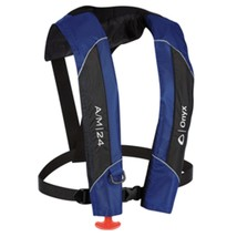 Onyx A/M-24 Automatic/Manual Inflatable PFD Life Jacket - Blue - $146.92