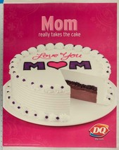 Dairy Queen Poster Mother's Day 22x28 dq2 - $14.98