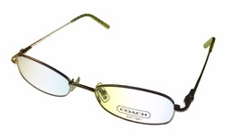 Coach Womens Ophthalmic Eyeglass Frame  Rectangle Metal, Jamie 109 Golden - $44.99