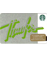 Starbucks 2016 Thanks Collectible Gift Card New Free Shipping - $4.99