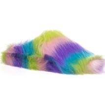 Betsey Johnson Splash Flat Slipper, Multi, 7 US - $36.47