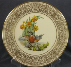 Robin Lenox Boehm Birds Decorative Plate 1977 Handcrafted Limited  - $34.95
