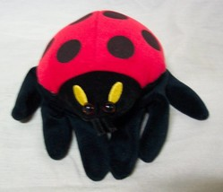 "Folkmanis Puppets LADYBUG HAND PUPPET 8"" Plush STUFFED ANIMAL Toy - $16.34"