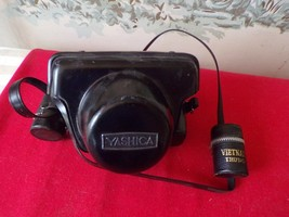 Vintage Yashica Electro 35mm camera with case/strap & Flash Unit PE-9 & ... - $44.55
