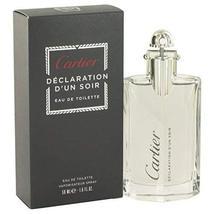 Declaration D'un Soir by Cartier Eau De Toilette Spray 1.7 oz for Men - 100% Aut - $72.93