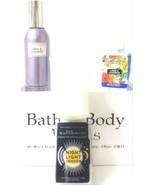 Bath and Body Works Linen & Lavender Room Spray, Wallflower and Night li... - $21.17