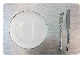 """Set of 6 PVC Dinning Room/Easy to Clean/Waterproof Placemats 11.8x17.7"""" ... - £38.22 GBP"""