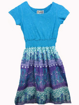 Mudd short sleeve print dress SIZE 6X - $6.88