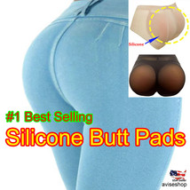 Best Big Butt Pad Silicone Buttocks Pads Butt Enhancer Body Shaper Girdle Panty - $18.99