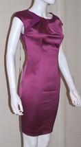 Philosophy Di Alberta Ferretti Fuchsia/Dark Pink Cocktail Dress - Us 4 - $450.00
