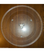 "14 1/8"" GE WB49X10063 Microwave Glass Turntable Plate/Tray Very Good Use... - $54.44"