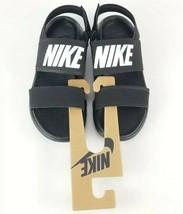 Nike Tanjun Sandals Black/White-Black Size 6 New Without Tags 882694 001 - $31.91
