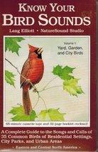 Know Your Bird Sounds: Yard, Garden and City Birds/Audio Cassette [Audio Cassett