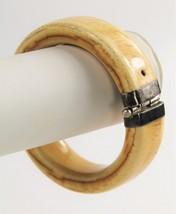 ANTIQUE Jewelry SILVER HINGED BANGLE BRACELET TRIBAL BOHO CHIC THAI - 92... - $375.00