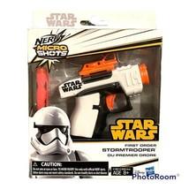 Nerf MicroShots #03 Star Wars First Order Stormtrooper 2-Dart Blaster Hasbro - $24.75