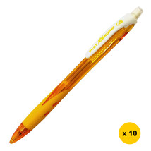 Pilot REXGRIP HRG-10R 0.5mm Mechanical Pencil (10pcs), Yellow, HRG-10R-Y5 - $24.99