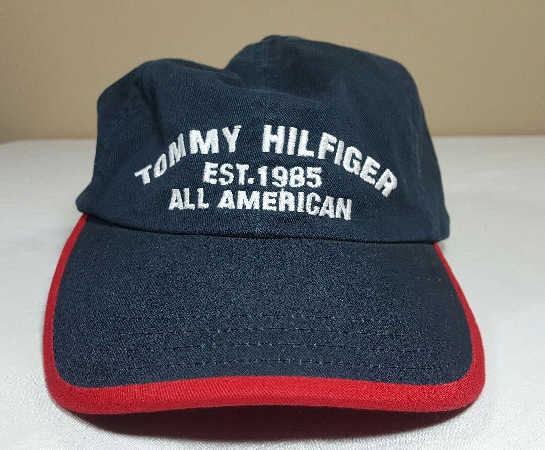 e14956fcb VTG Tommy Hilfiger Hat Leather Strapback and 50 similar items. S l1600