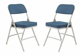National Public Seating 3200 Series Steel Frame Upholstered Premium Fabr... - $62.59