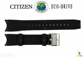 Citizen Eco-Drive Promaster B740-S067201 Black Rubber Watch Band B740-S0... - $84.95