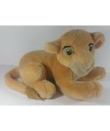 Walt Disney Parks Simba Plush 13in The Lion King Stuffed Animal Cub Layi... - $9.99