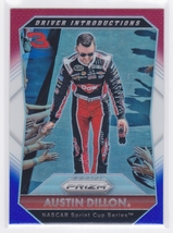 Austin Dillon 2016 Panini Prizm NASCAR Red White and Blue Prizm Card #87 - $0.99