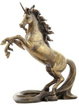 10.75 Inch Unicorn with Long Tail Statue Fantasy Magic Figurine Collectible - $69.00