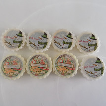 Yankee Candle Tarts Tart Melts Jack Frost and Christmas Cookie Lot of 8 - $11.39