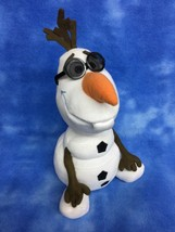 "13"" Disney Store Frozen Animated Olaf Talks Sings In Summer Plush Soft Toy - $11.40"