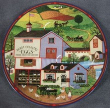 Virginia's Market Collector Plate Charles Wysocki Peppercricket Grove Br... - $24.95