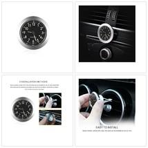 Mini Car Air Vent Quartz Clock Vehicle Dashboard Premium Light Weight 1.... - $14.84