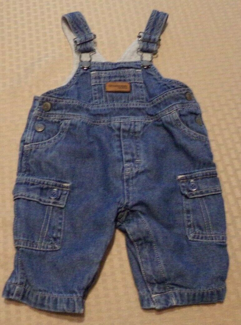 Oshkosh B'Gosh ~ Infant Size 3 Mos. Bib Overalls  - $9.95