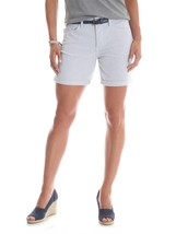 "Riders by Lee Women's 6"" Belted Cuff Shorts New Dobby Size 18 New - $16.82"