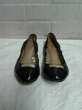 Women's Coach Black Size 6.5B Slip On Loafers Shoes - $17.81